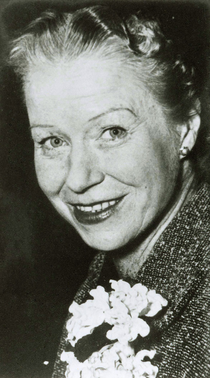 Dame Mabel Miller, member of Tasmanian House of Assembly, c. 1955. Image courtesy of Parliament of Tasmania