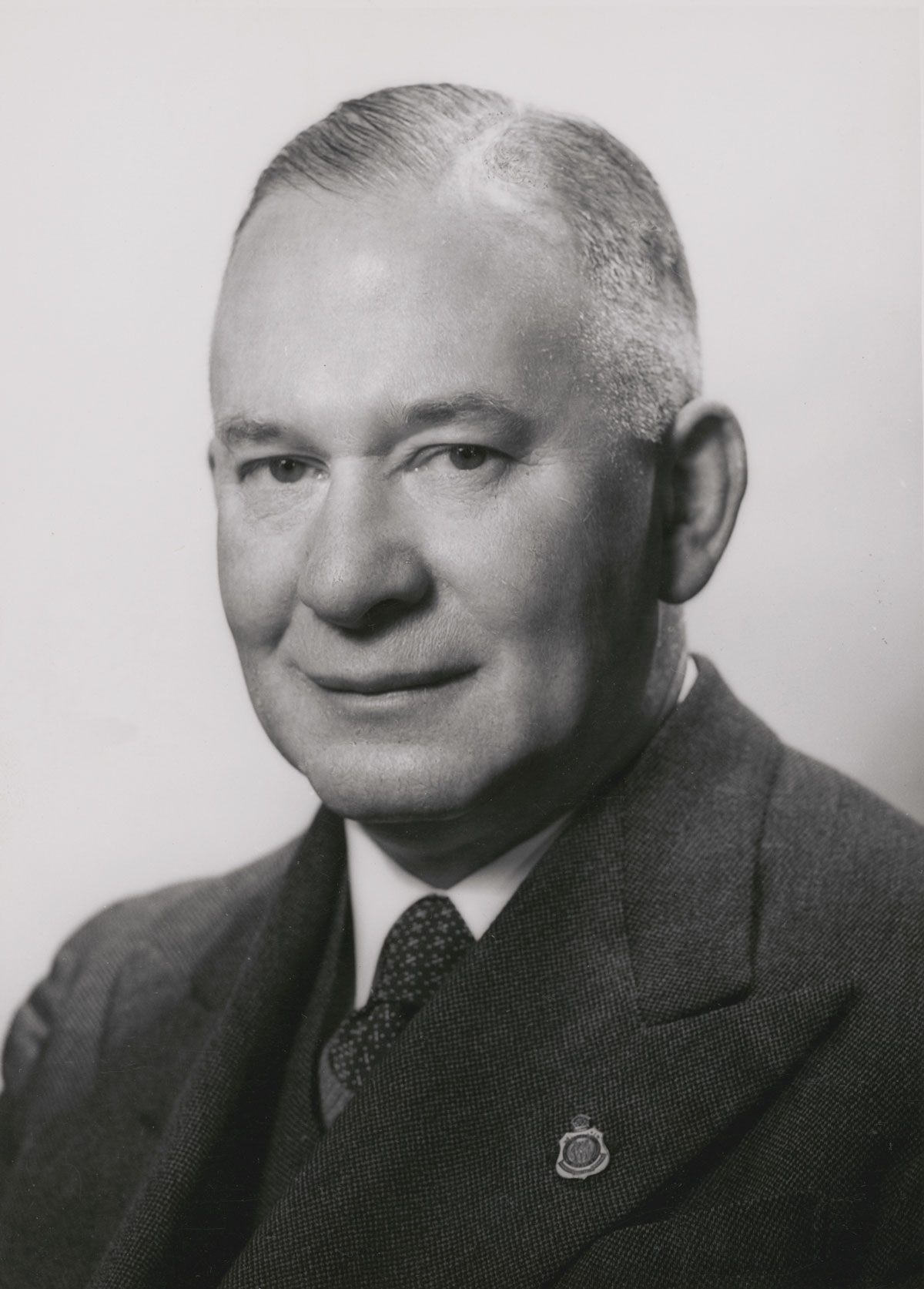 Portrait of Senator Keith Alexander Laught, 1951, National Library of Australia, nla.obj-137356466