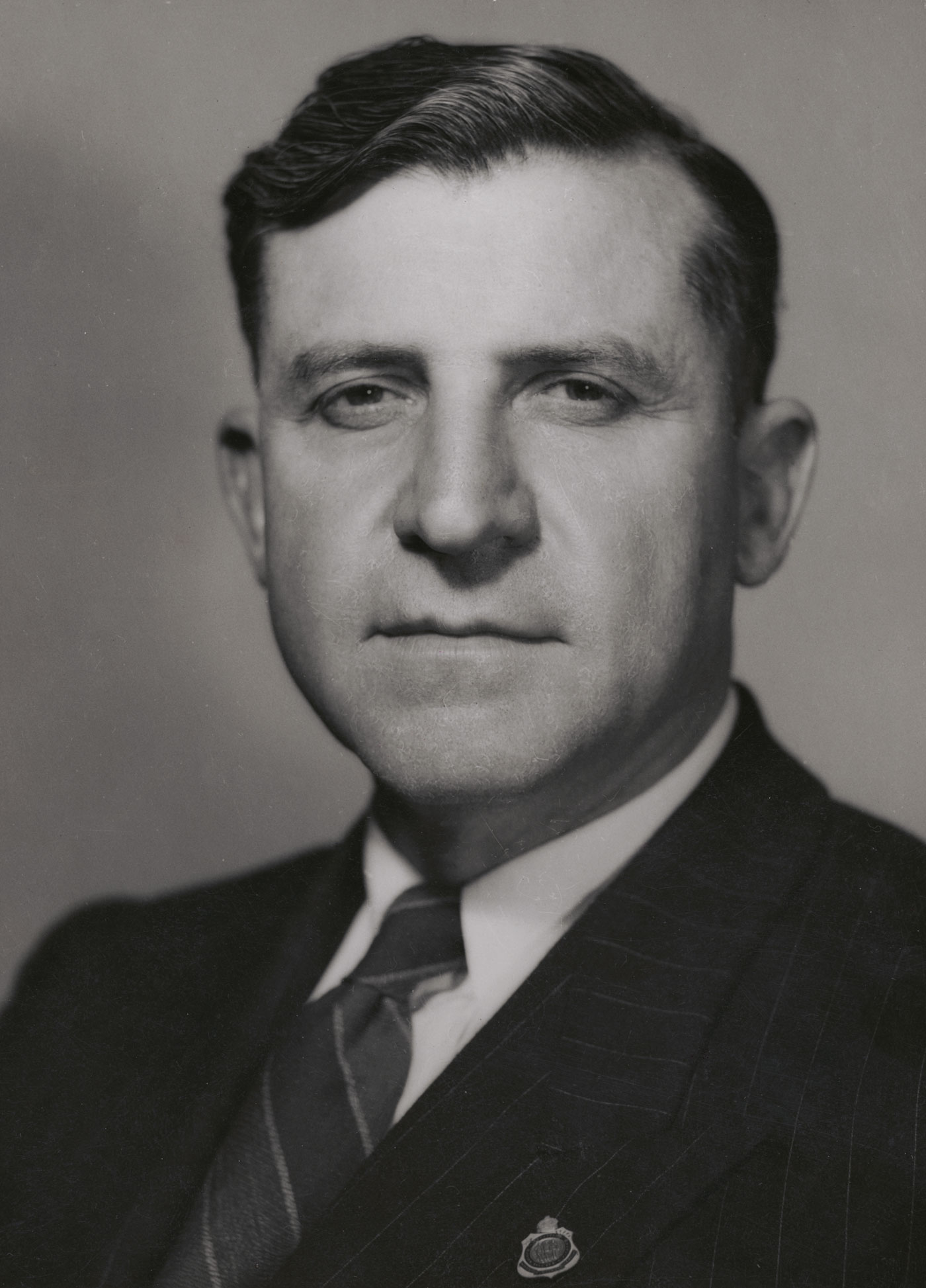 Portrait of Senator Victor Seddon Vincent, July 1950, National Library of Australia, nla.obj-137356572